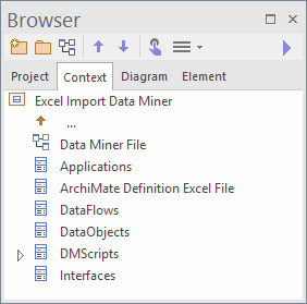 context_browser_sparxsystems_enterprise_architect_15