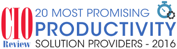 cio review 20 most promising productivity solution providers 2016