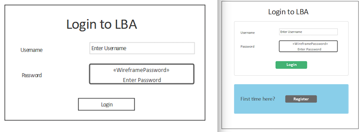 Fig 5 login 1 and login 2