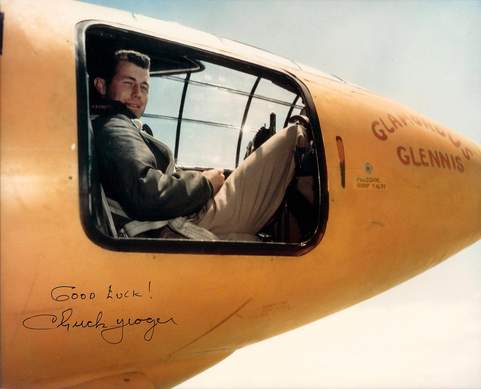 1 Chuck Yeager X 1 color