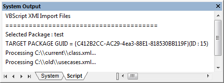 scripting_enterprise-architect-batch-xmi-file-import run script