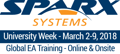 Sparx Systems University Week Global Course Schedule
