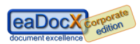 eaDocX: document excellence - Corporate Edition