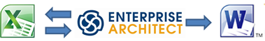 Excel - Enterprise Architect - Word Integration